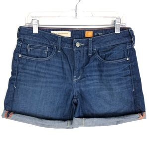 Pilcro and the Letterpress Anthro Jean Shorts